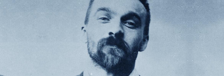 Piłsudski po aresztowaniu przez Ochranę, 1900 r.