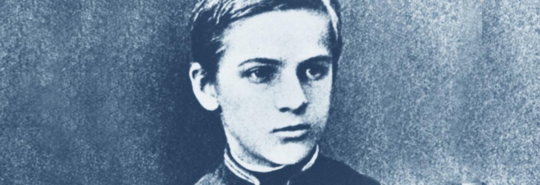 Józef Piłsudski jako nastolatek