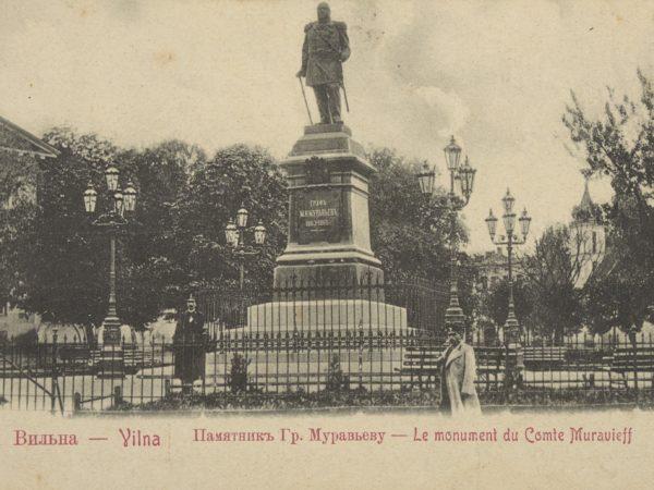pomnik Murawjowa w Wilnie