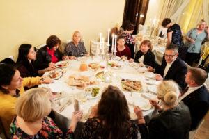 Spotkanie Klubu Nauczyciela Historii 2019 - uroczysta kolacja