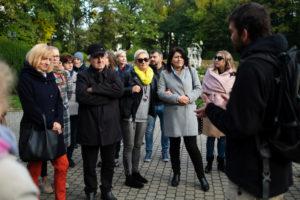 Spotkanie Klubu Nauczyciela Historii 2019 - zwiedzanie Księżego Młyna