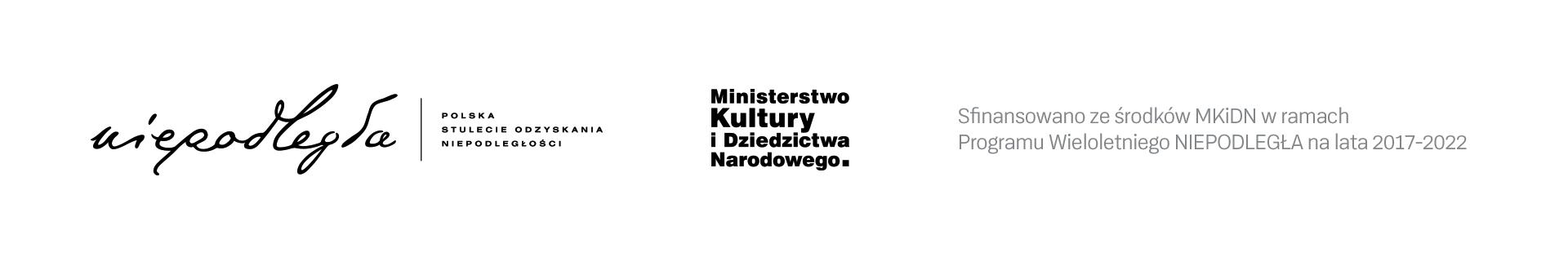 Sfinansowano ze środków MKDiN w ramach akcji Niepodległa na lata 2017-2022