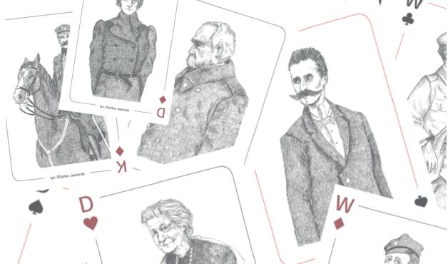 karty zaprojektowane w konkursie