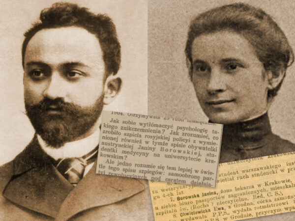 Aleksander Sulkiewicz i Janina Borowska