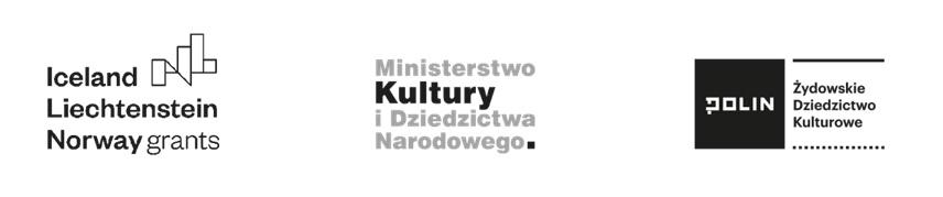 logotypy: Iceland Liechtenstein Norway grants, Ministerstwo Kultury i Dziedzictwa Narodowego, Polin