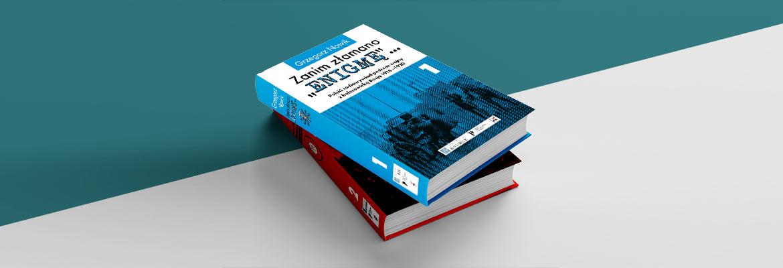 okładki dwóch części książki