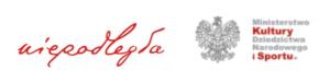 logotypy biura programu Niepodległa oraz Ministerstwa Kultury, Dziedzictwa Narodowego i Sportu