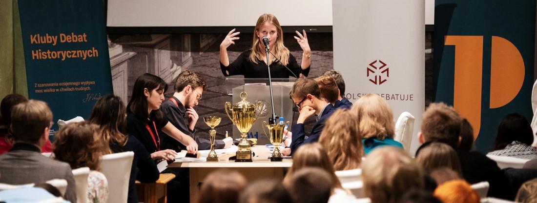 zdjęcie z pierwszej edycji turnieju debat