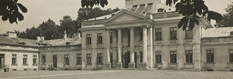 Zdjęcie fasady Belwederu, lata 30. XX w.