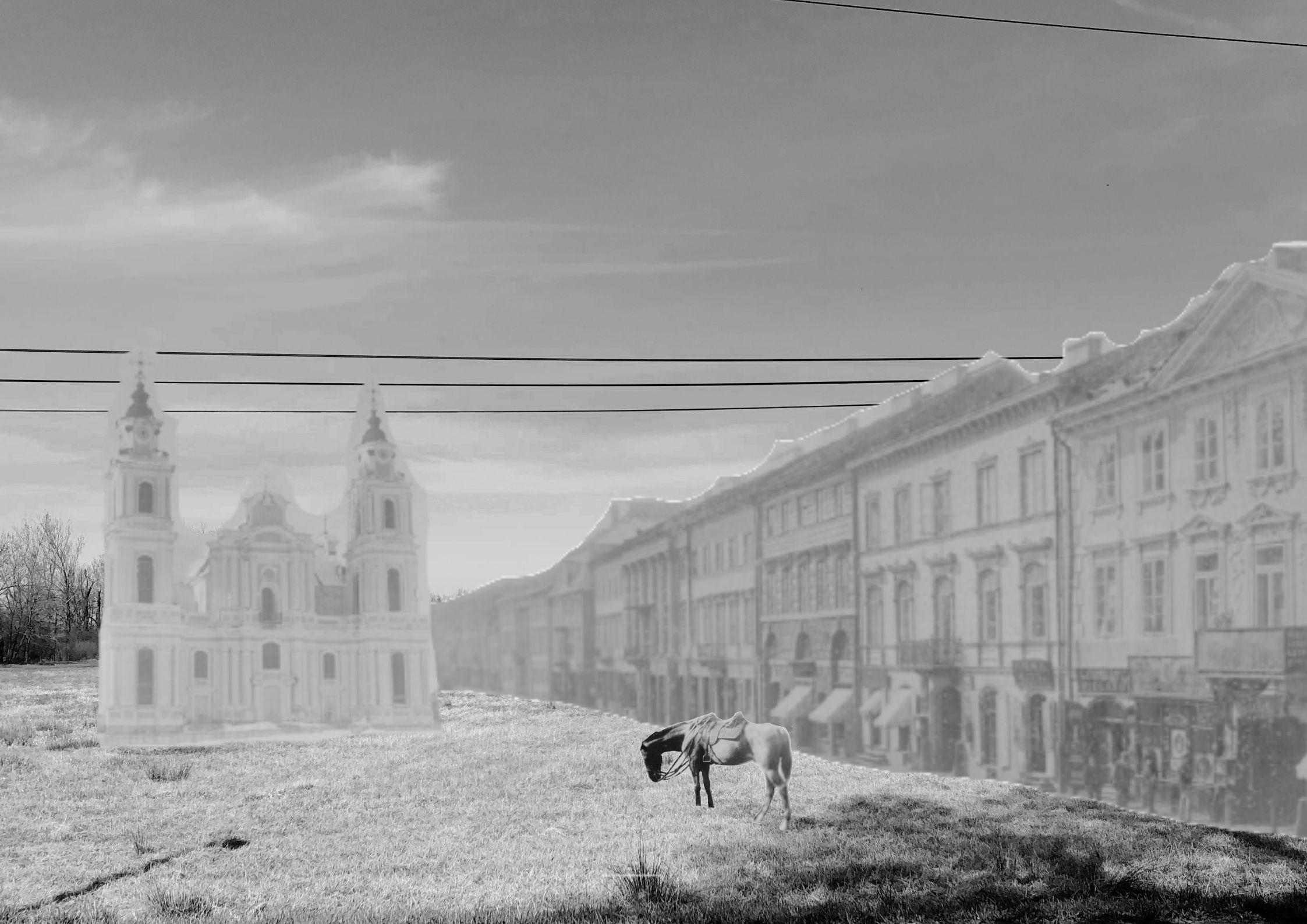 "Iga Mochocka, ""Moja okolica w 1920 roku"""