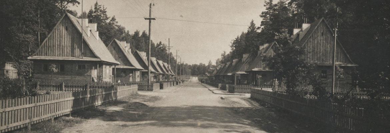 Janowa Dolina - zdjęcie głównej ulicy z okresu przedwojennego