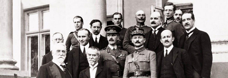 Przedstawiciele misji dyplomatycznych w Polsce w 1920 r.