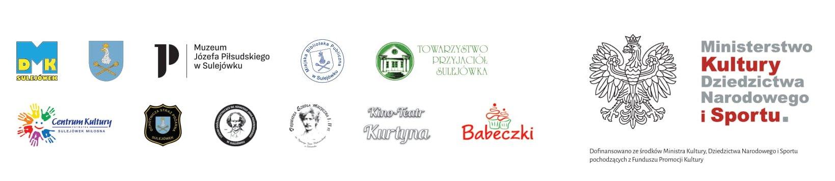 logotypy partnerów Festiwalu Zofiówka